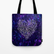 Ever After Heart Tote Bag