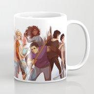 Heroes Of Olympus Mug