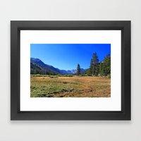 Hannah Mountain Framed Art Print