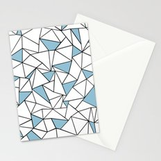Ab Out Blue Blocks Stationery Cards