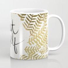 Treat Yo Self – Gold Mug