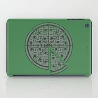 Slice of sewer life iPad Case
