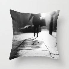 Light Shopping Throw Pillow