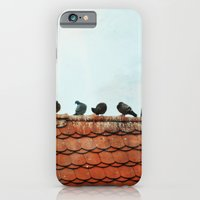 Birds on a Rooftop iPhone 6 Slim Case