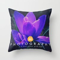 What Is Photography  Throw Pillow