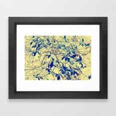 Leaves they're a changing II Framed Art Print