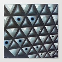 Triangle Gallery Canvas Print
