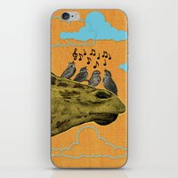 Giraffe & Singing Birds … iPhone & iPod Skin