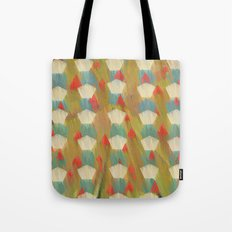 pattern goodbye to autumn Tote Bag