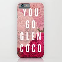 iPhone & iPod Case featuring You Go Glen Coco by Zeke Tucker