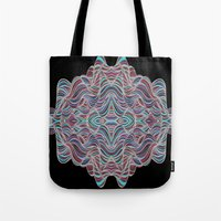 Abstract Waves of Thoughts Tote Bag