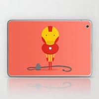 My Ironing Hero! Laptop & iPad Skin