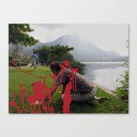 Locals Only - Rio De Jan… Canvas Print