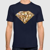 Facets you like Mens Fitted Tee Navy SMALL