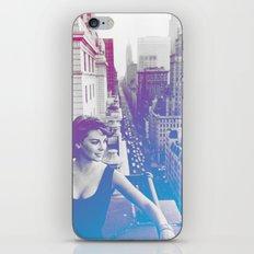 Natalie Wood Cityscape iPhone & iPod Skin