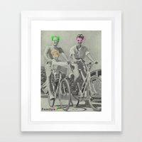 Family Fun Framed Art Print