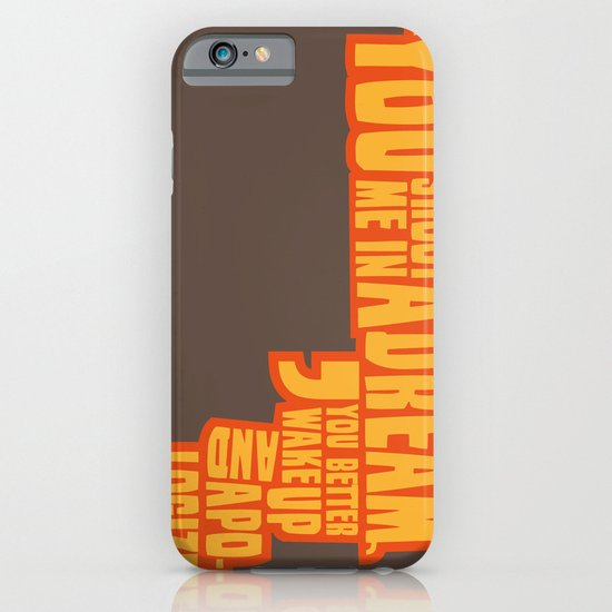 Shoot me in a dream iPhone & iPod Case