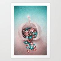 FLEURI Art Print
