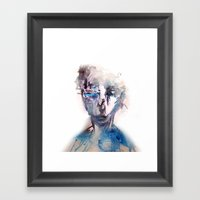 grotesque/2 Framed Art Print