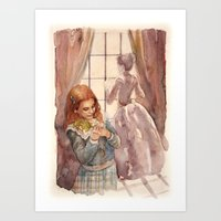 Wendy and Mrs. Darling Art Print