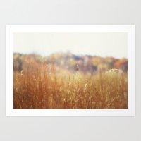 Reeling Away November'… Art Print