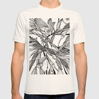 love tree Mens Fitted Tee Natural SMALL