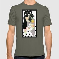 b & w Mens Fitted Tee Lieutenant SMALL