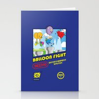Adventure Time Balloon Fight Stationery Cards