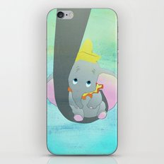 dumbo and his mom iPhone & iPod Skin