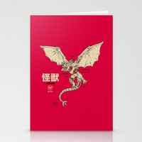 Kaiju Anatomy 2 Stationery Cards