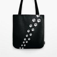 Cat Paws Tote Bag