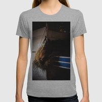 Horse Womens Fitted Tee Athletic Grey SMALL