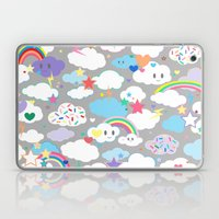 Clouds and Rainbows Kawaii Laptop & iPad Skin