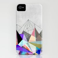 iPhone 4s & iPhone 4 Cases featuring Colorflash 3 by Mareike Böhmer Graphics