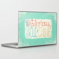 Laptop & iPad Skin featuring Let Your Glorious Soul S… by Joyful Roots