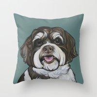 Wallace the Havanese Throw Pillow