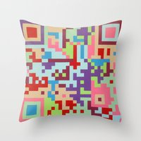 Number Two Multicolour  Throw Pillow