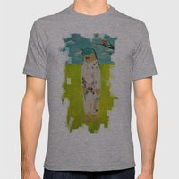 Eror, Teror, Happiness Mens Fitted Tee Athletic Grey SMALL