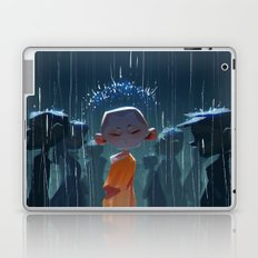 Monk in modern times Laptop & iPad Skin