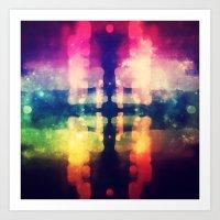 Bokeh Prism  Art Print