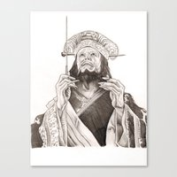 Lo Pan Canvas Print