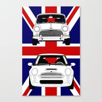 Mini, new and old Canvas Print