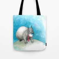 Are You Gonna Watch Me E… Tote Bag