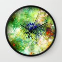 Rusty Universe Wall Clock