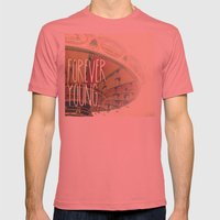 F∞REVER Mens Fitted Tee Pomegranate SMALL