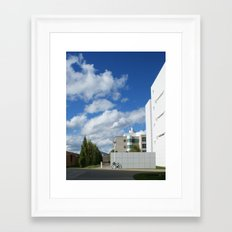 On a Stroll Framed Art Print