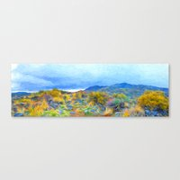 Lost in Light's Array Canvas Print