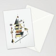 losing balance Stationery Cards