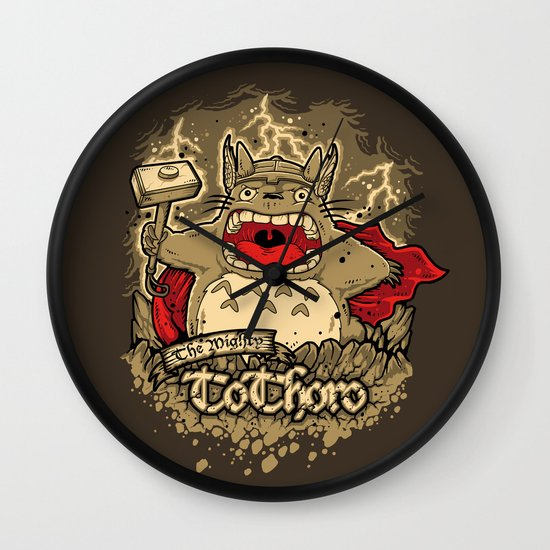 THE MIGHTY TO-THOR-O Wall Clock