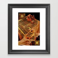 Tesrawa Tapestry Framed Art Print